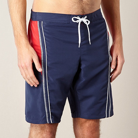Zoggs - Navy panelled swim shorts