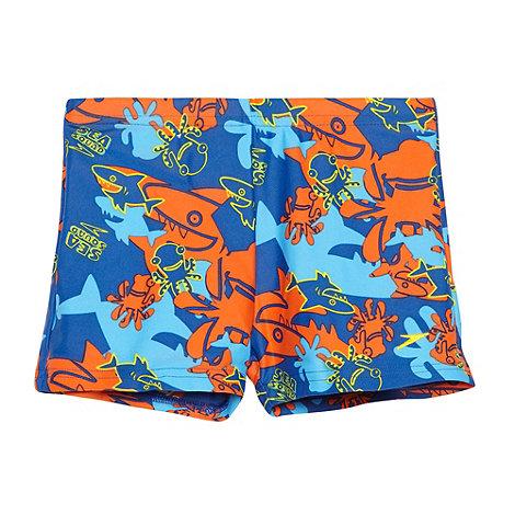 Speedo - Boy+s blue +Sea Squad+ swim shorts