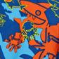 Speedo - Boy+s blue +Sea Squad+ swim shorts Alternative 2