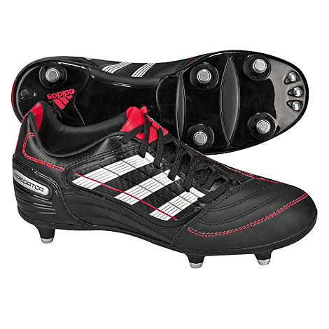 Adidas - Boy+s black +Predator Absolado X SG+ football trainers