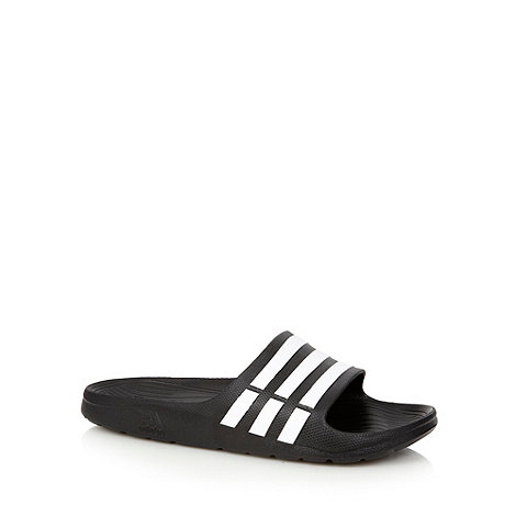 adidas - Black +Durmo Slide+ flip flops