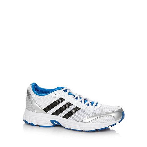 adidas - White +Vanquish+ running trainers