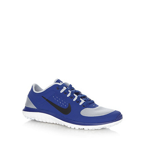 Nike - Blue mesh +FS Lite Run+ trainers