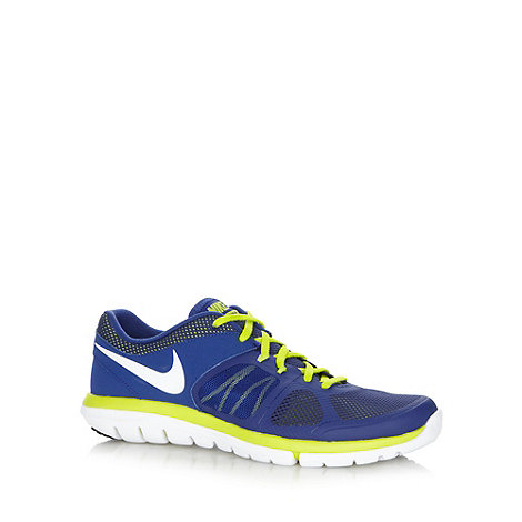Nike - Blue +Flex 2014+ running trainers