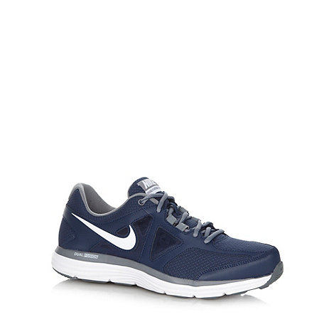 Nike - Navy mesh +Dual Fusion Lite 2+ running trainers