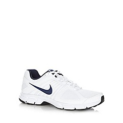 Nike - White mesh 'Downshifters 5' trainers
