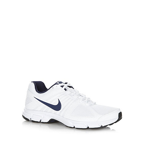 Nike - White mesh +Downshifters 5+ trainers