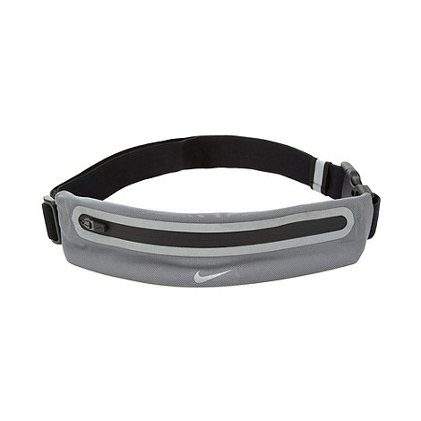Nike - Grey expandable running waist pack