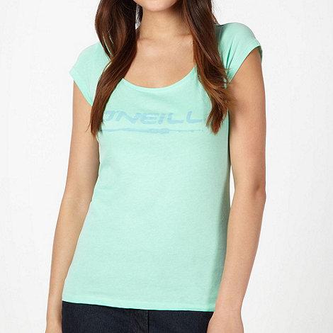 O+Neill - Green logo print t-shirt