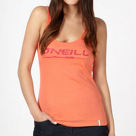 O+Neill - Peach logo printed vest