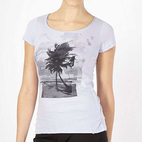 O+Neill - Light purple palm tree t-shirt