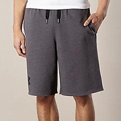 Under Armour - Dark grey sweat gym shorts