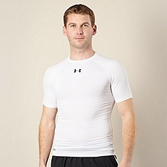 Under Armour - White heat gear sonic compression top