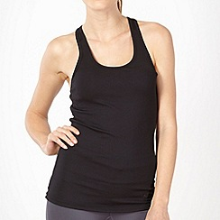 Under Armour - Black ribbed tank top