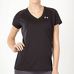 Under Armour - Black technical gym t-shirt