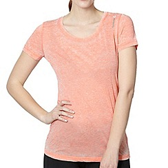 Reebok - Coral short sleeved t-shirt