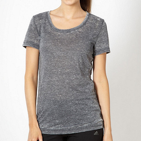 Reebok - Dark grey short sleeved t-shirt