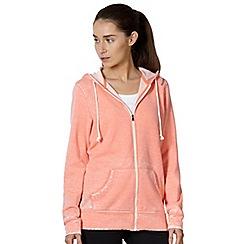 Reebok - Coral zip through hoodie