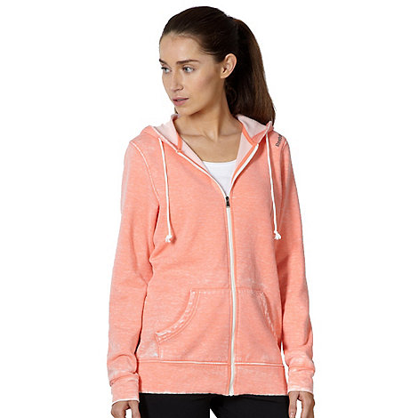 Reebok - Coral zip through hoodie