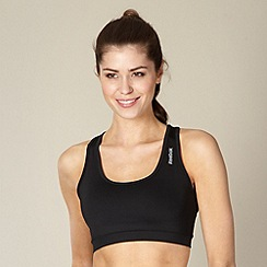 Reebok - Black racer back fitness bra