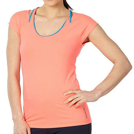 Reebok - Fluorescent pink women+s training t-shirt