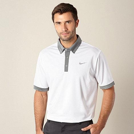 Nike - White +Ultra+ performance golf polo shirt