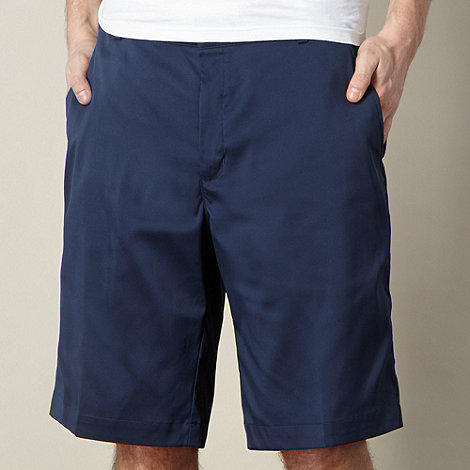 Nike - Navy flat front shorts