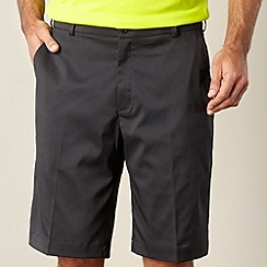 Nike - Black flat front golf shorts