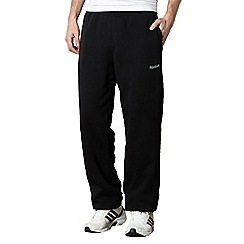 Reebok - Black lined jogging bottoms