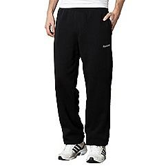 Reebok - Black lined jogging bottoms