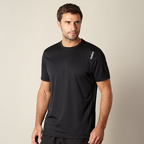Reebok - Black mesh sports top