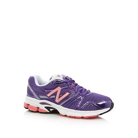 New Balance - Purple metallic +W660+ running trainers
