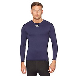 Canterbury - Navy long sleeved thermal top