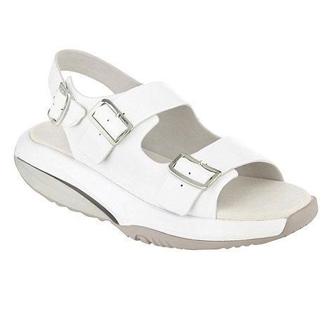 MBT - White +Salma+ sandals