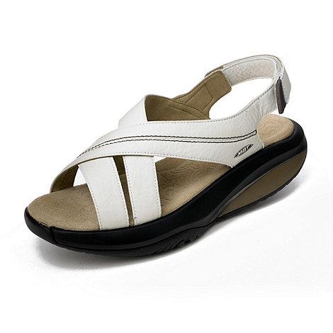 MBT - Beige +Habari+ sandals
