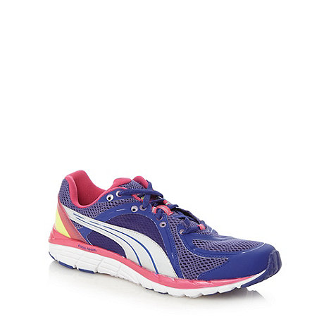 Puma - Purple +FAAS 600+ running trainers