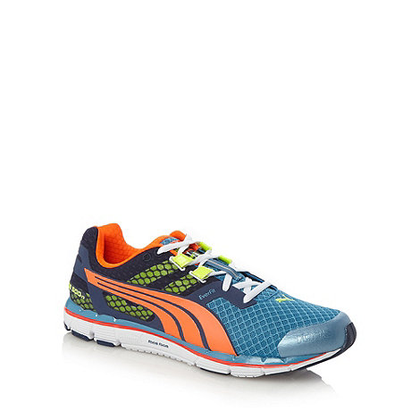 Puma - Blue +Faas 500+ running trainers