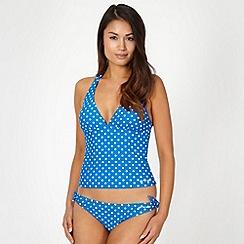 Animal - Blue spotted tankini set
