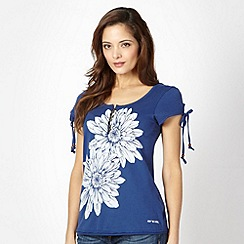Animal - Navy oversize floral t-shirt