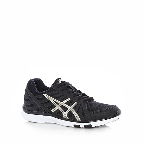 ASICS - Black +Ayami-Zone+ mesh padded running trainers
