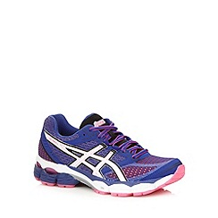 ASICS - Purple 'Pulse 5' gel support running trainers