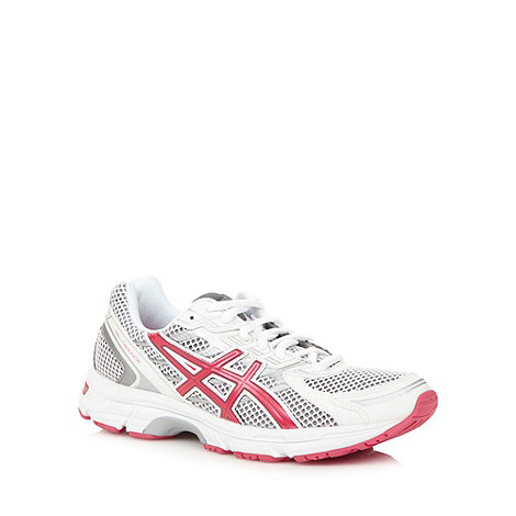 ASICS - Red +Trounce+ gel support running trainers