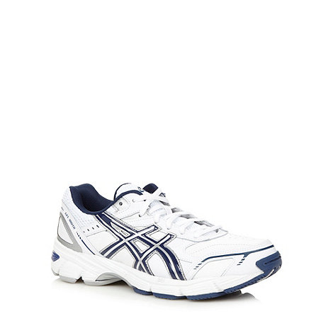 ASICS - White +180 TR+ gel support running trainers