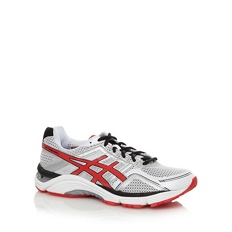 ASICS - White +Gel Foundation 11+ trainers