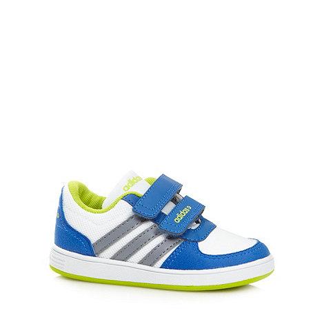adidas - Boy+s white +VLNeo ST+ trainers
