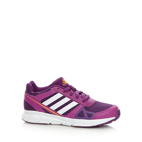 adidas - Girl+s purple +Hyperfast+ trainers