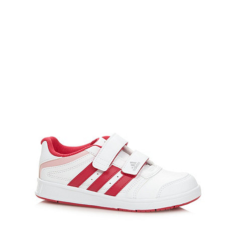 adidas - Girl+s white +LK Trainer 5+ trainers