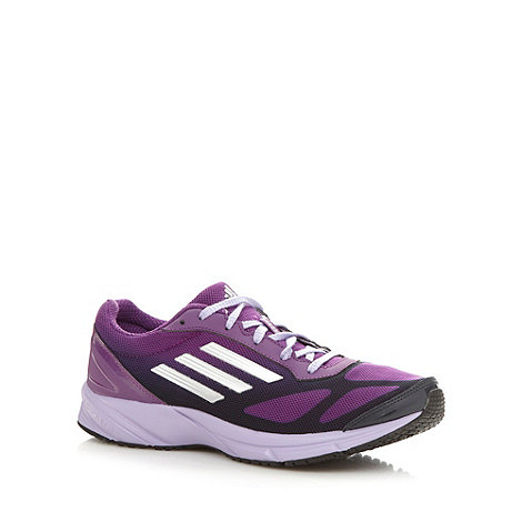 adidas - Purple +Lite Pacer+ running trainers