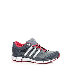 adidas - Grey 'Questar' mesh running trainers
