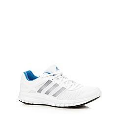 adidas - White 'Duramo 6' running trainers